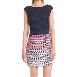 Ted Baker Dahil Marina Mosaic Tunic Lace Dress Sz3